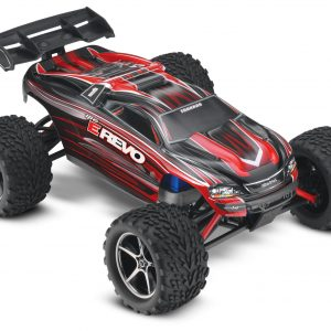 Traxxas E-Revo 1/16 Scale 4WD Brushed RTR Truck Red