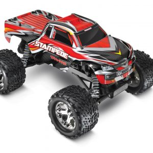 The Traxxas Stampede XL-5 1/10 Waterproof Red Edition