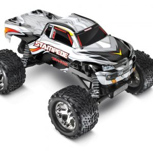 The Traxxas Stampede XL-5 1/10 Waterproof Silver Edition