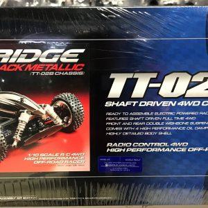 RC Tamiya Dual Ridge Black Metallic – TT-02B Kit