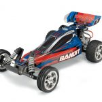 The Traxxas Bandit XL-5 1/10 Scale RTR Buggy Blue