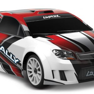 1/18 Scale LaTrax Rally RTR w/ 2.4GHz/ Waterproof Red
