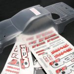 Traxxas Body, Revo 3.3 (Extended Chassis) (Clear)*