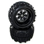 07065-10 – Wheels Complete, 10mm Black (2pcs)+