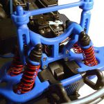RPM Shock Tower w/Body Mount (Blue)*