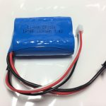 Sonic 14 Boat Li-ion Battery 7.4V 1100mAh