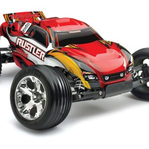 1/10 Scale Truck Traxxas Rustler XL-5® Waterproof Red