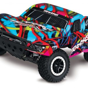 Traxxas Slash Pro SC Truck Brushed w Battery & Charger Hawaiian