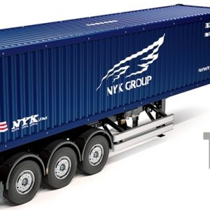 Tamiya- RC Container Trailer 1/14 Scale NYK – 40ft 3-Axle