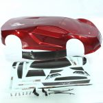 R10215 – 1/10 200mm On Road Car Body Metallic Red+