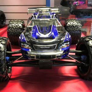 Traxxas E-Revo RTR 4WD Brushless Monster Truck Blue*