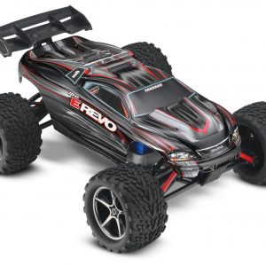 Traxxas E-Revo 1/16 Scale 4WD Brushed RTR Truck Black
