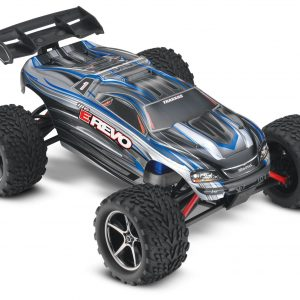 Traxxas E-Revo 1/16 Scale 4WD Brushed RTR Truck Silver