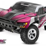 Traxxas Slash 2WD 1/10 Pink Brushed, No Battery/ Charger