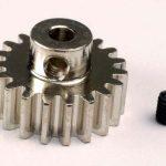 TRA3949- Gear, 19-T pinion (32-p) (mach. steel)/ set screw