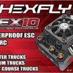 HX-HEX10-120-  HEX10 Waterproof ESC