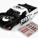 TRA6849-  Body, Slash 4X4/Slash, Fox Edition (painted, decals applied)