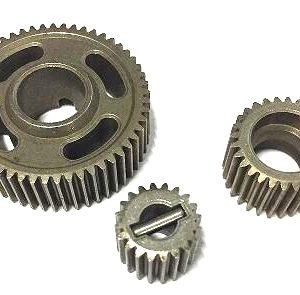 13859 – Steel transmission gear set (20T, 28T, 53T)
