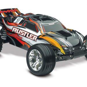 1/10 Scale Truck Traxxas Rustler XL-5® Waterproof Black