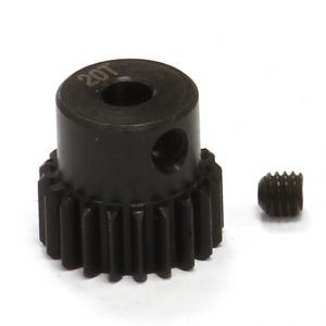 20T Steel Pinion Gear for 1/16 Traxxas E-Revo, Slash, Summit, Rally
