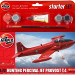 Airfix Model Kit – Hunting Percival Jet Provost T.4 Starter Set 1:72