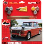 Airfix Model Kit – Triumph Herald Starter Set 1:32 Scale