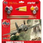 Airfix Model Kit – Hawker Typhoon Ib Starter Set 1:72