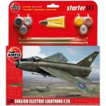 Airfix Model Kit – English Electric Lightning F.2A Starter Set 1:72