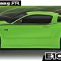 HPI Racing E10 Touring Gittin Jr 2014 Mustang Body (Green) RTR