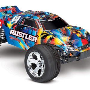 Traxxas Rustler 1/10 Stadium Truck Rock and Roll
