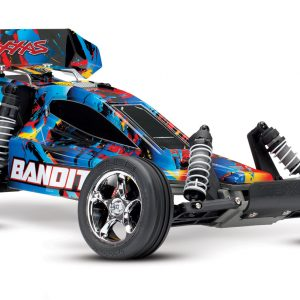 Traxxas Bandit XL-5 1/10 Scale Off-Road Buggy Rock And Roll