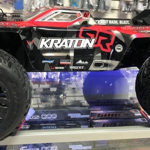ARRMA 2018 1/8 Scale Kraton 6S BXL 4WD Monster Black/Red